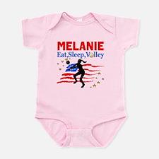 CUSTOM VOLLEYBALL Infant Bodysuit