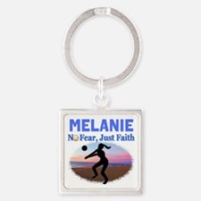 VOLLEYBALL STAR Square Keychain