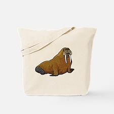 Cute Walrus Tote Bag