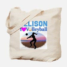 VOLLEYBALL STAR Tote Bag