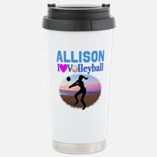 VOLLEYBALL STAR Stainless Steel Travel Mug