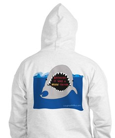 Afraid of the Shark? Riddle Hoodie
