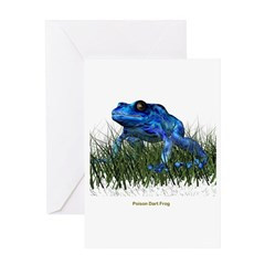 Poison Dart Frog Greeting Card