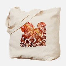 Cute Year of the horse Tote Bag