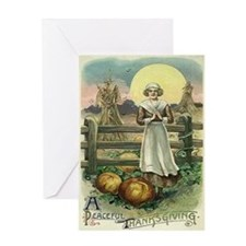 Peaceful Thanksgiving Greeting Card