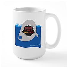 Afraid of the Shark? Riddle Mug