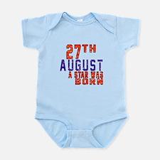 27 August A Star Was Born Infant Bodysuit