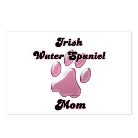 Water Spaniel Mom3 Postcards (Package of 8)