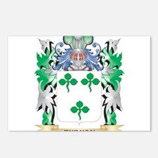 Tubman Coat of Arms - Fam Postcards (Package of 8)