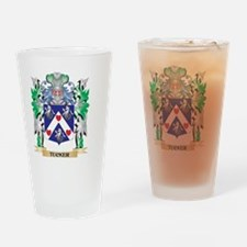 Tucker Coat of Arms - Family Crest Drinking Glass