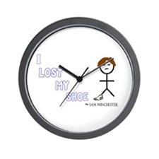 Sammy Lost His Shoe Wall Clock