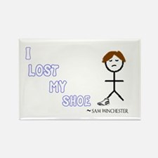 Sammy Lost His Shoe Rectangle Magnet