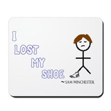 Sammy Lost His Shoe Mousepad