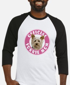 Official Yorkie Mom - Baseball Jersey