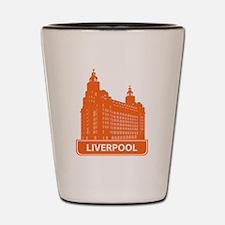 Funny Liverpool Shot Glass