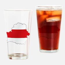 Cute Belarus Drinking Glass
