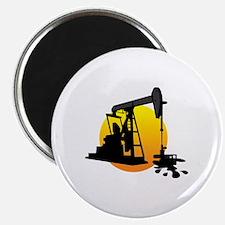 Cute Oil field Magnet