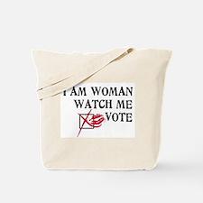 Watch Me Vote! Tote Bag