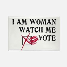 Watch Me Vote! Rectangle Magnet