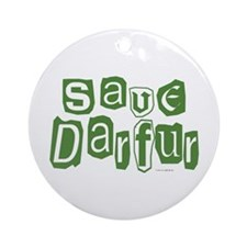 Save Darfur 2 Ornament (Round)