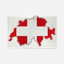 Cute Swiss flag Rectangle Magnet