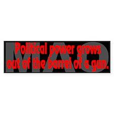 Mao Quote: Political power - Bumper Bumper Sticker