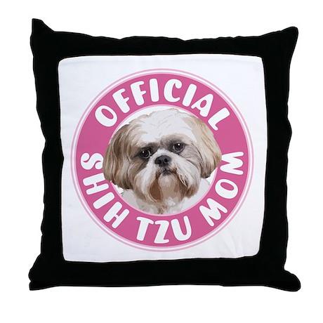 Shih Tzu Mom - Throw Pillow