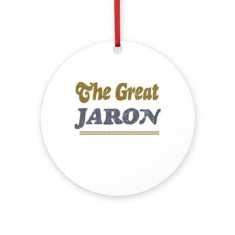 Jaron Ornament (Round)