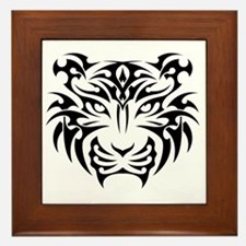 Cute Tattoo art Framed Tile