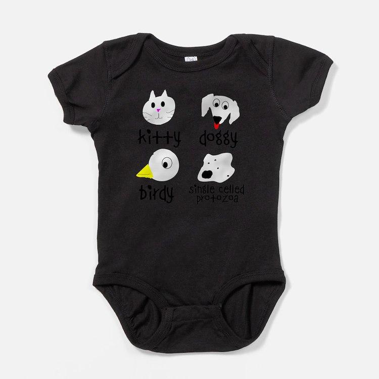 Cute Protozoa Baby Bodysuit