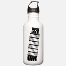 Cool Leaning tower pisa Water Bottle