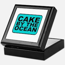 Cake By the Ocean Keepsake Box