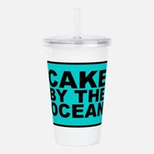 Cake By the Ocean Acrylic Double-wall Tumbler