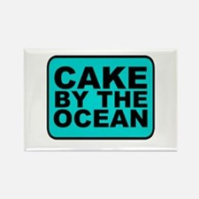 Cake By the Ocean Magnets