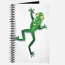 Unique Cartoon frog Journal