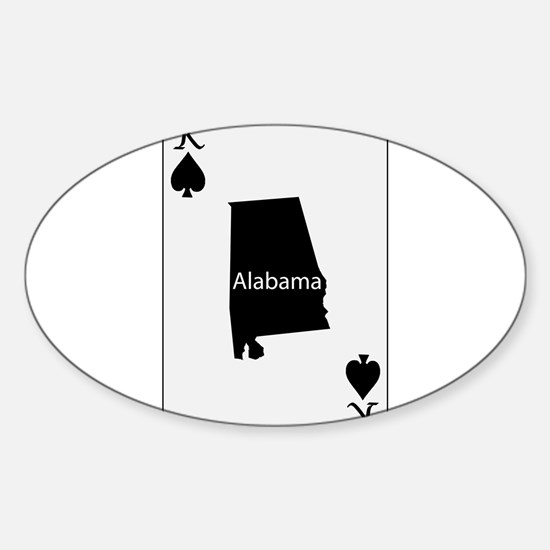 USA Playing Card King Spades Decal