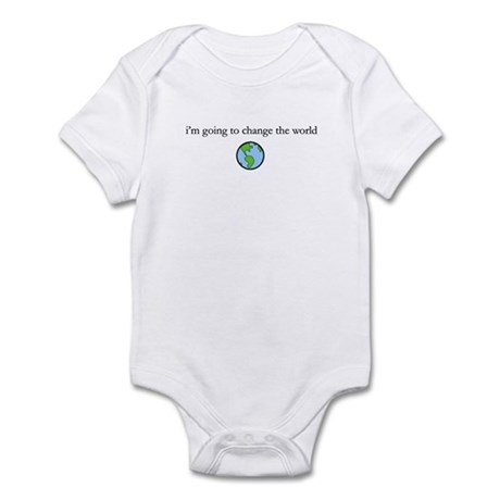Change the world Infant Bodysuit