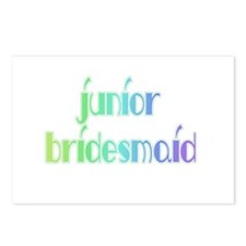 Color Shades Jr. Bridesmaid Postcards (Package of