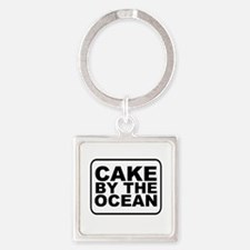 Cake by the Ocean Keychains