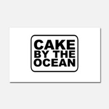 Cake by the Ocean Car Magnet 20 x 12