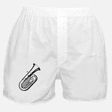 Cute Tuba Boxer Shorts