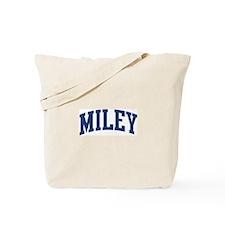 MILEY design (blue) Tote Bag