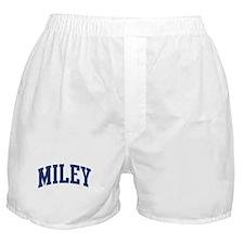 MILEY design (blue) Boxer Shorts