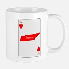 USA Playing Card Ace Hearts Mugs