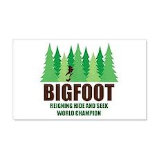 Bigfoot Sasquatch Hide and Seek World Champion Wal