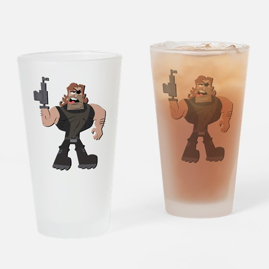 Cool Mandy Drinking Glass