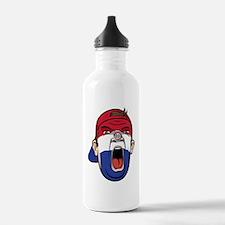 Cute Paraguay football Water Bottle