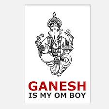 Ganesh Is My Om Boy Postcards (Package of 8)