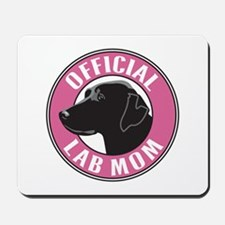 Official Lab Mom - Mousepad