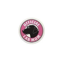 Official Lab Mom - Mini Button